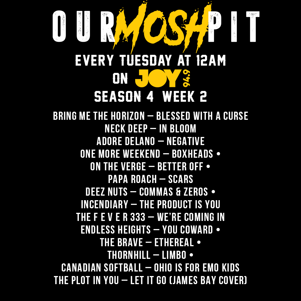 Our Mosh Pit – Season 4 Week 2 Podcast