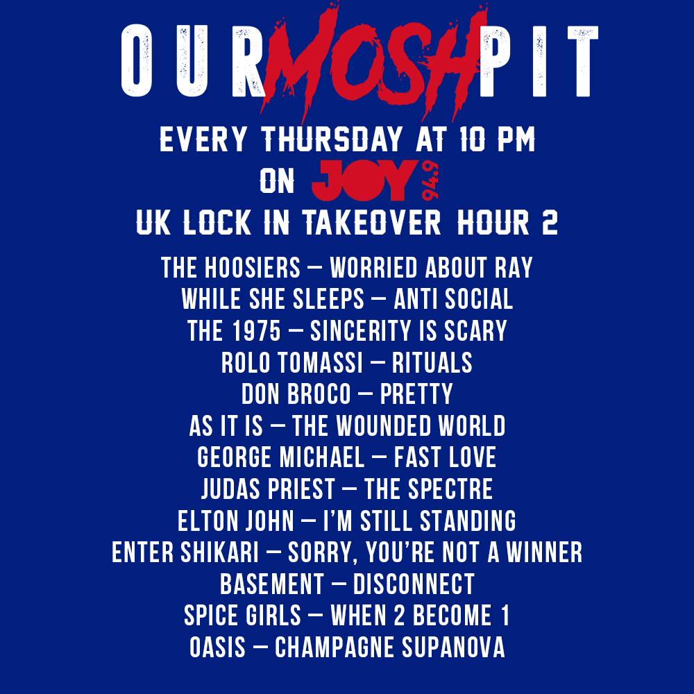 Our Mosh Pit takesover The UK Lock In, Hour 2