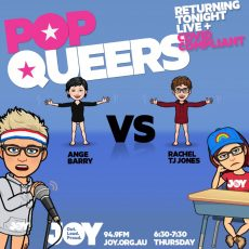 Pop Queers: Ep 31: Ange Barry vs Rachel Tyler Jones
