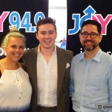 "Radiothon – Harrison Craig calls to tell us why ""We Still Need Joy"" and talks about his current tour 