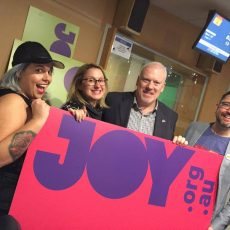 "Radiothon – Tim, Dene, Rach, Jacq, Pete, Alex, Adam all agree – we need marriage equality and that's why… ""We Still Need Joy"" 