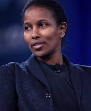 Ayaan Hirsi Ali, author of Heretic