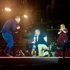 Chris Nicholson: Adele Concert Proposal