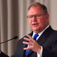 Lord Mayor Robert Doyle talks bollards