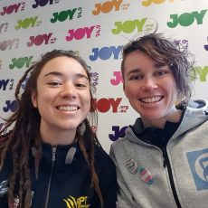 The Sat Mag Team Speak to Bowie and Lizzay from the Fearless Movement Collective