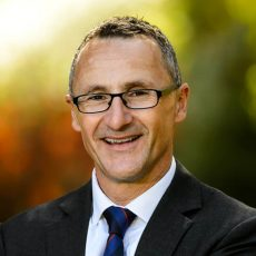 Richard Di Natale, leader of the Greens