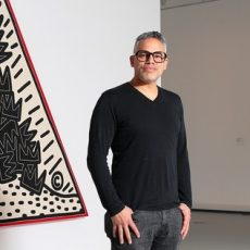 Gil Vazquez from the Keith Haring Foundation