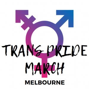Trans Pride March Melbourne