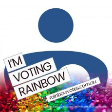 Victorian Pride Lobby Rainbow Votes