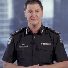 Victoria Police Chief Shane Patton