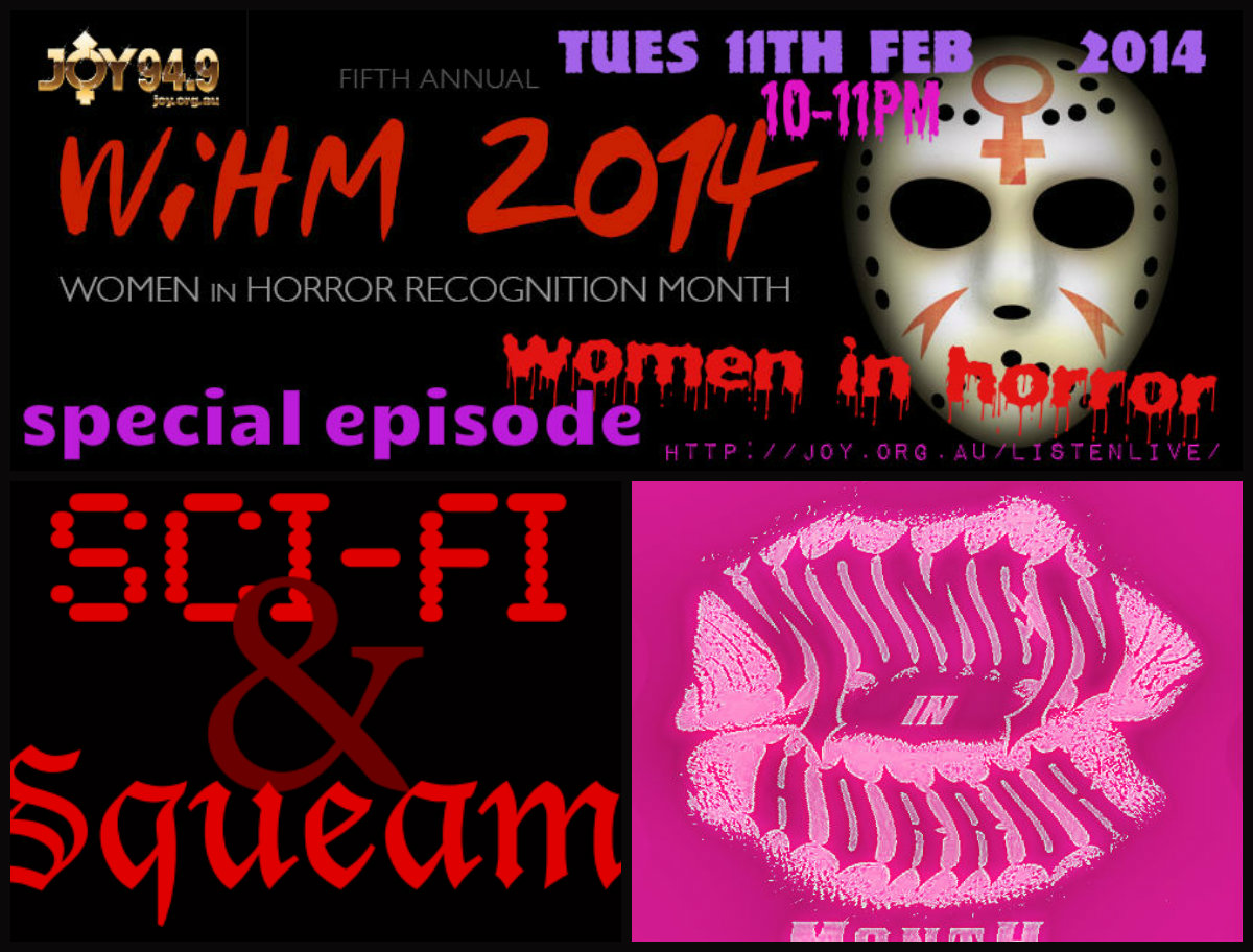 Women In Horror In JOY 2014