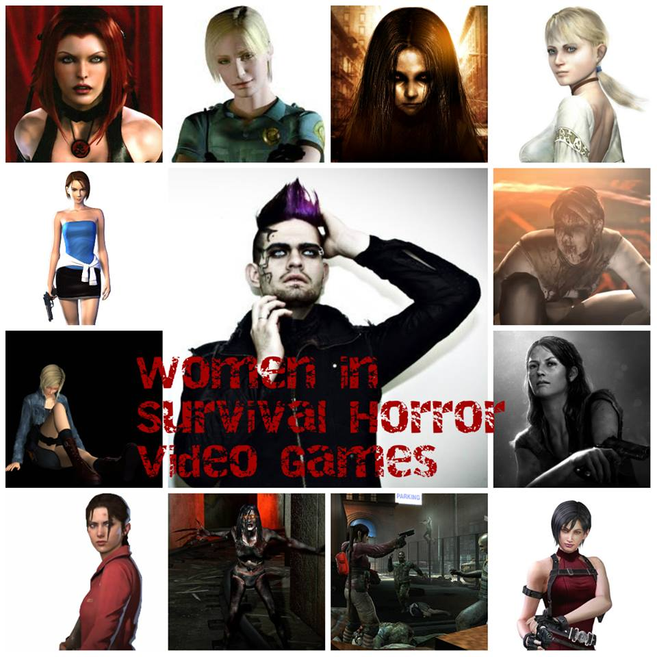 Strong Women In Survival Horror Rule ! ( in Video Games)