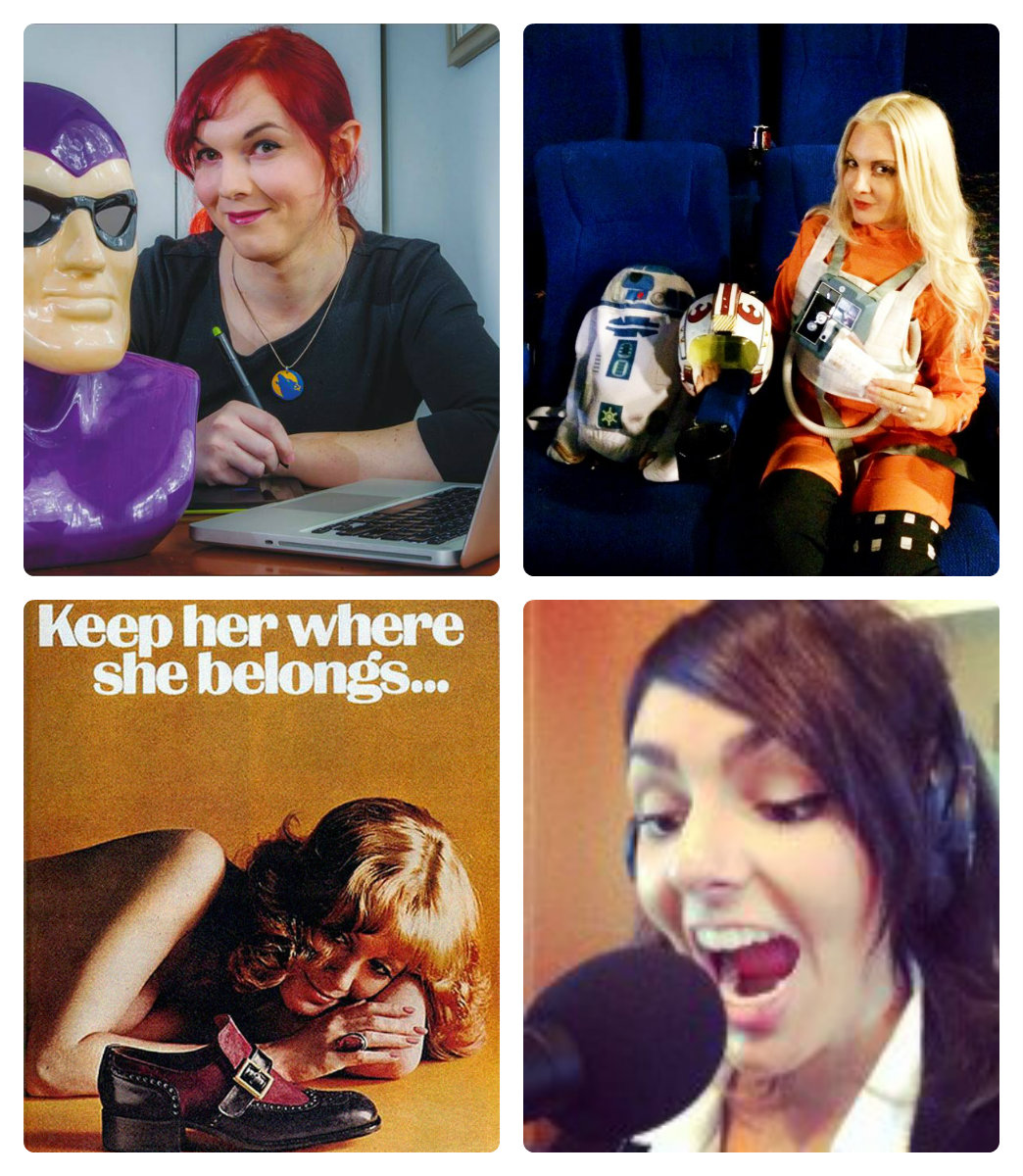 GeekGirlSpeak!  The 1st Live show May 13th 2014  ….  The GRUNCH!?