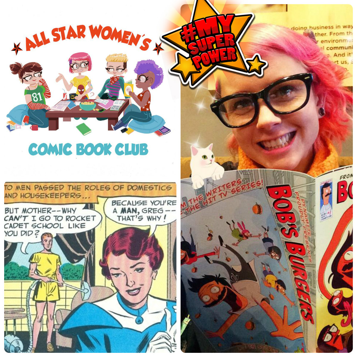 All Star Comics Womens Comics Club 2