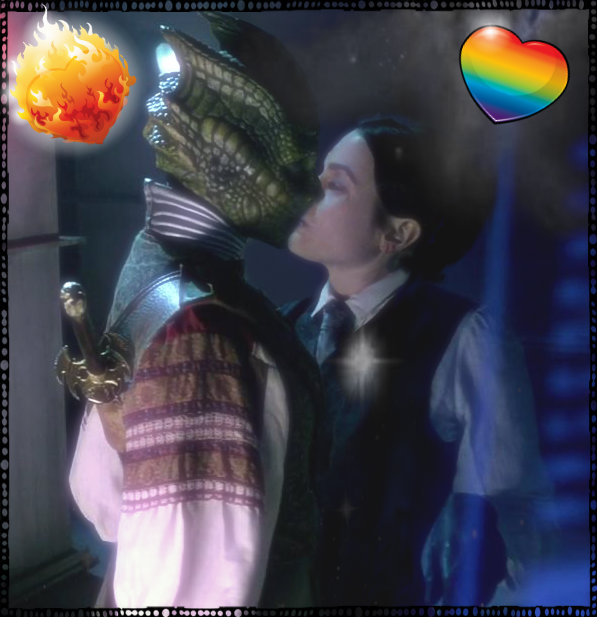 Vastra and Jenny Dr Who image 1