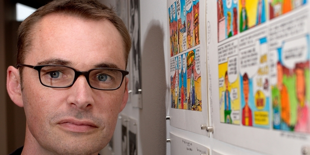 Kiwi Comics Icon : Dylan Horrocks