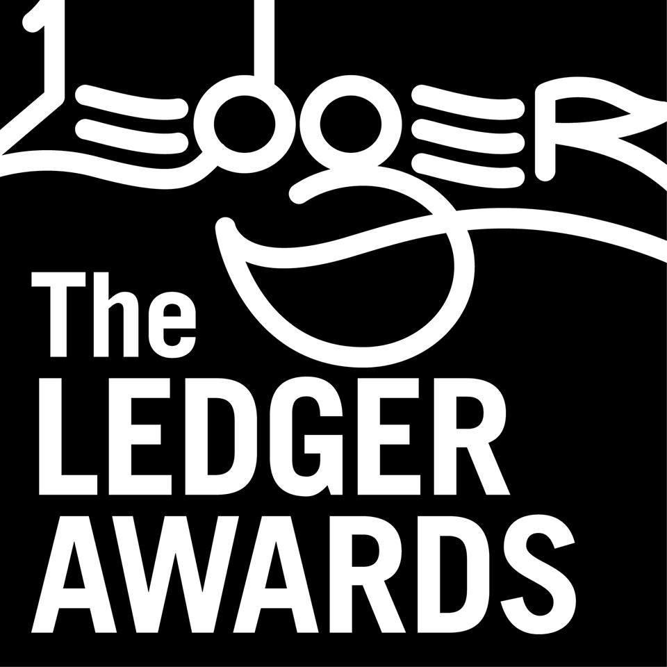 ledger awards sign