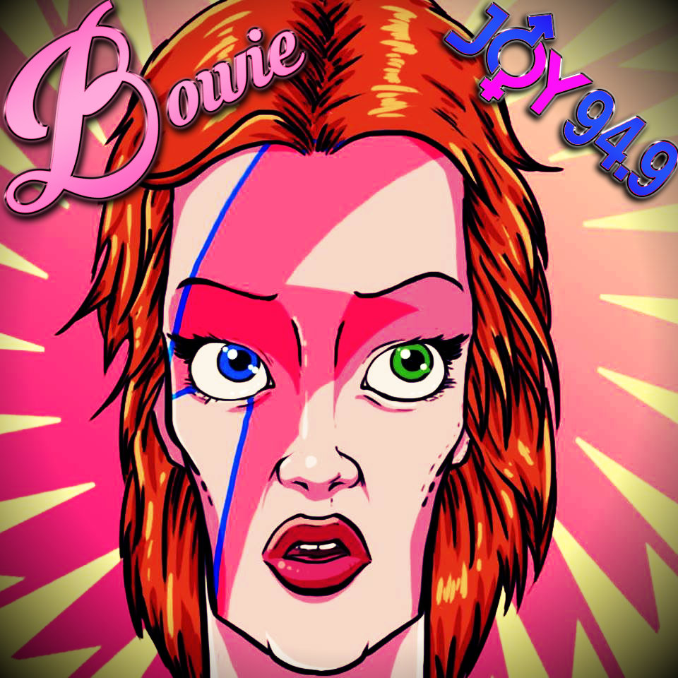 David Bowie Is Face of Melbourne 2015