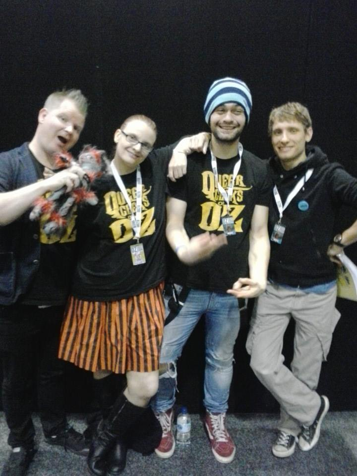 Queer Geeks Post Panel at Oz Comic Con Melbourne 2015
