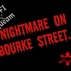 A Nightmare On Bourke Street, a farewell to Wes Craven