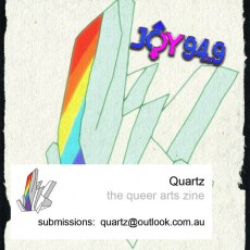 Quartz : What Is Identity? for a Queer Arts Zine.