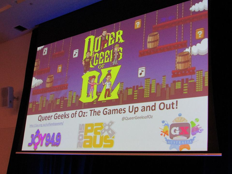 The Games Up and Out screen shot stage