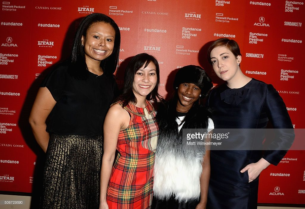 "attends ""The Fits"" Premiere during the 2016 Sundance Film Festival at Egyptian Theatre on January 25, 2016 in Park City, Utah."