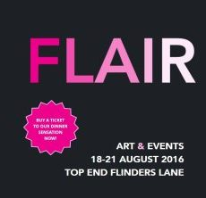 FLAIR Art W/end, Collins Pl. Pop-Up Gallery, MIFF, Julian Clavijo