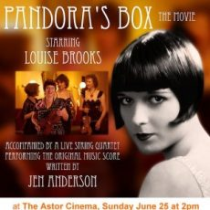 Interview: Composer Jen Anderson re Pandora's Box with quartet