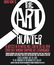 The Art Hunter——- 10 Artists in 10 weeks………
