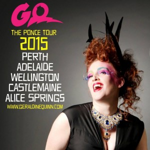 Geraldine Quinn at The Adelaide Fringe Festival