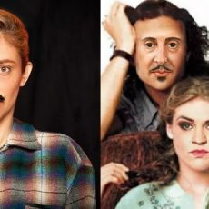 Genevieve Butler (A Rose Among Horns) and Gillian English (10 things I Hate About Taming of the Shrew)