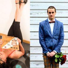 Melbourne Fringe:  Dean Robinson (The Date) and Chloe Black (Transistor Sister)