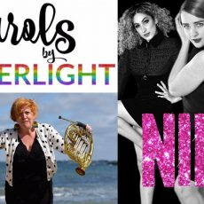 Mark Zannan (Melbourne Rainbow Band), Katy Christie (Anxiety Blows!), and Michael Ralph (Nine – The Musical)
