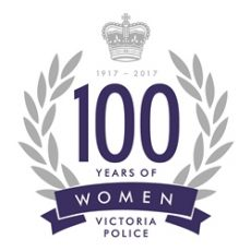 VPO_100 Years of Women in Policing_Blue_CMYK