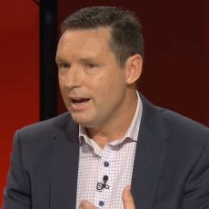 Australian Christian Lobby managing director Lyle Shelton. Photo: ABC TV screengrab