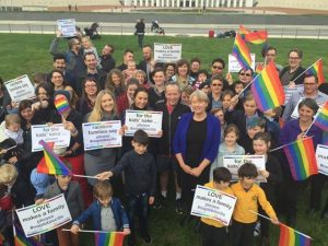 Canberra dances with Rainbow Families during Foster Care Week