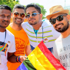 Colombo Pride in Sri Lanka. Photo: YouTube