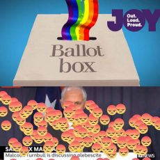 Will the plebiscite go to the polls, to the post or to the High Court?