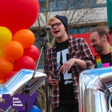 Spencer Gorman : Equal Love Rally Melb 26th August 2017