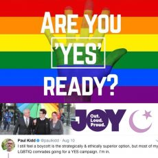 How do we safely protest? Are you 'YES' ready? Muslims 4 Marriage Equality : 14th August 2017