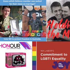 Labors WA Equality Plans, Defending Free Speech, Honour Awards and more: 28th August 2017