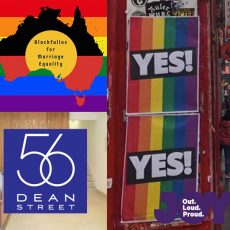 Blackfullas 4 Marriage Equality, how HIV dropped in the UK and how to handle hateful posters : 29th August 2017