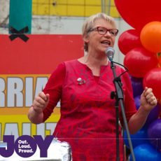 Janet Rice : Equal Love Rally Melb 26th August 2017