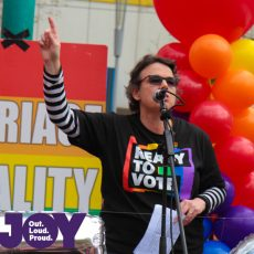 Will Stracke : Equal Love Rally Melb 26th August 2017