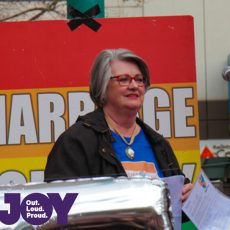 Sharyn Faulkner : Equal Love Rally Melb 26th August 2017
