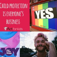 Trans self harm, Child protection & Rainbow Windows : 4th September 2017