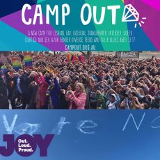 When someone you know is voting 'NO', Camp Out Australia  : 19th September 2017