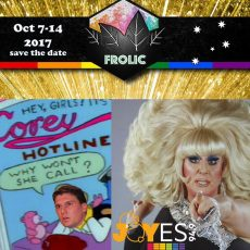 We phone the Cory Bernadi Hotline, Ballarat Frolic Festival and Drag and Politics with Lady Bunny : 5th October 2017