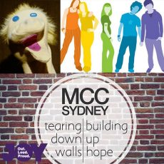 What happens when your YES bubble is burst? MCC Sydney, Headspace and Youth Support & Sock Puppets for Marriage Equality : 12th October 2017